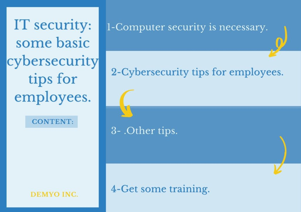 cybersecurity tips for employees.