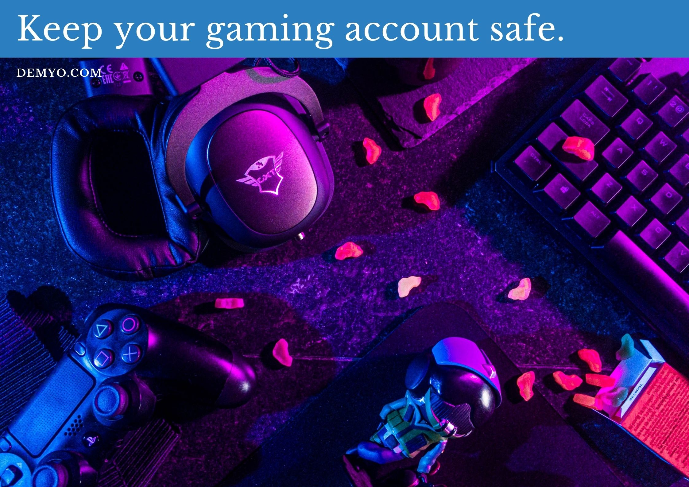 gaming account safe