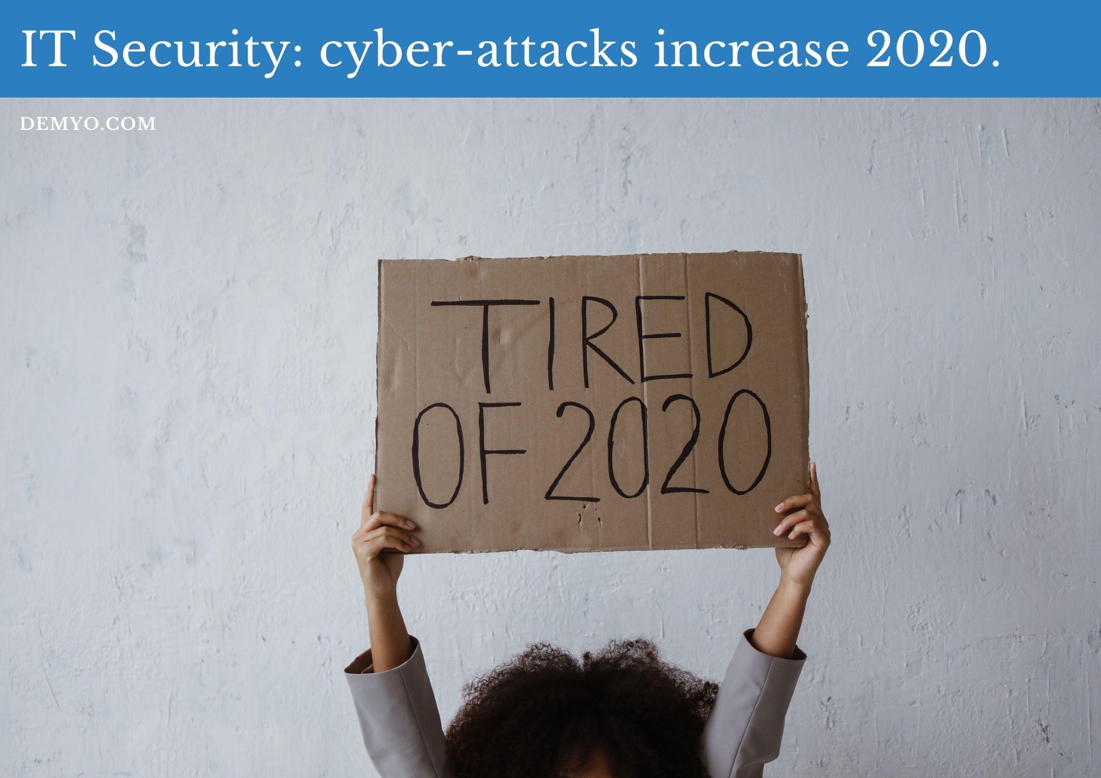 cyber-attacks increase